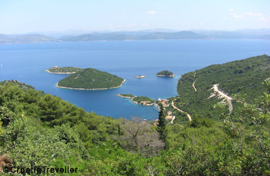 Mljet Island Coastal View