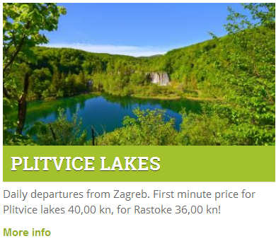 Book a Plitvice bus