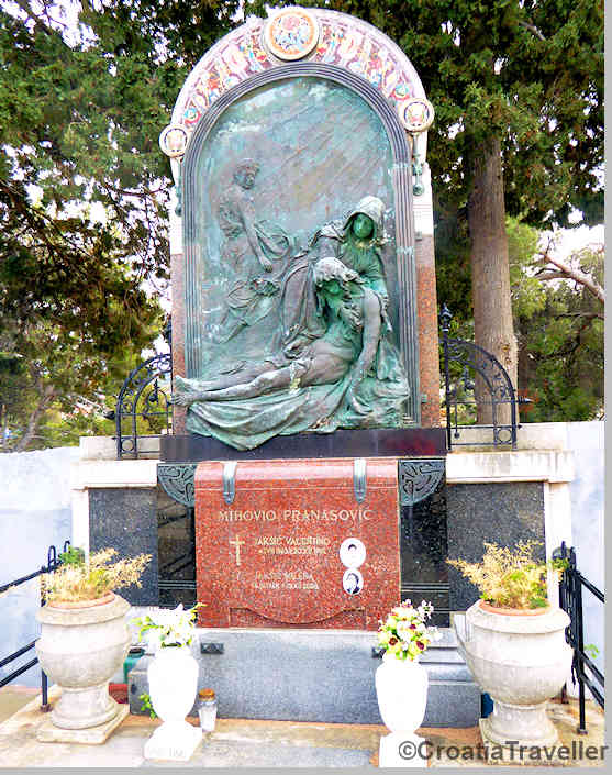 Franavosic tombstone, Supetar