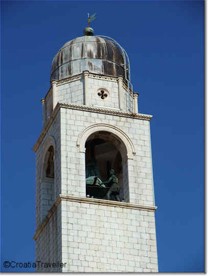 Top of Dubrovnik's Clocktower