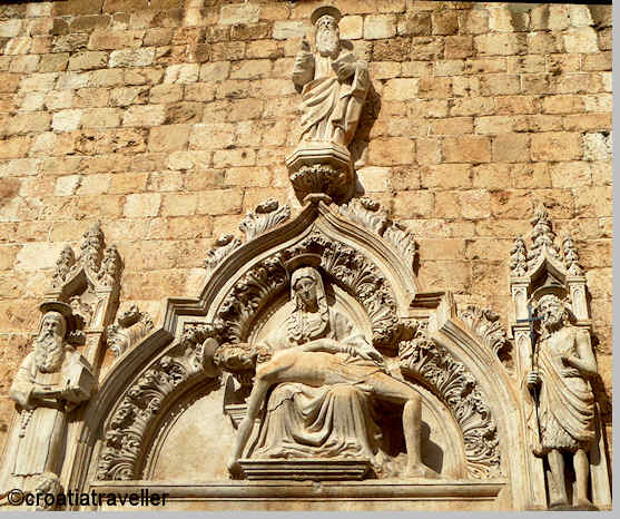"""Image result for Dubrovnik's St. Blaise,painting in monastery"""""""