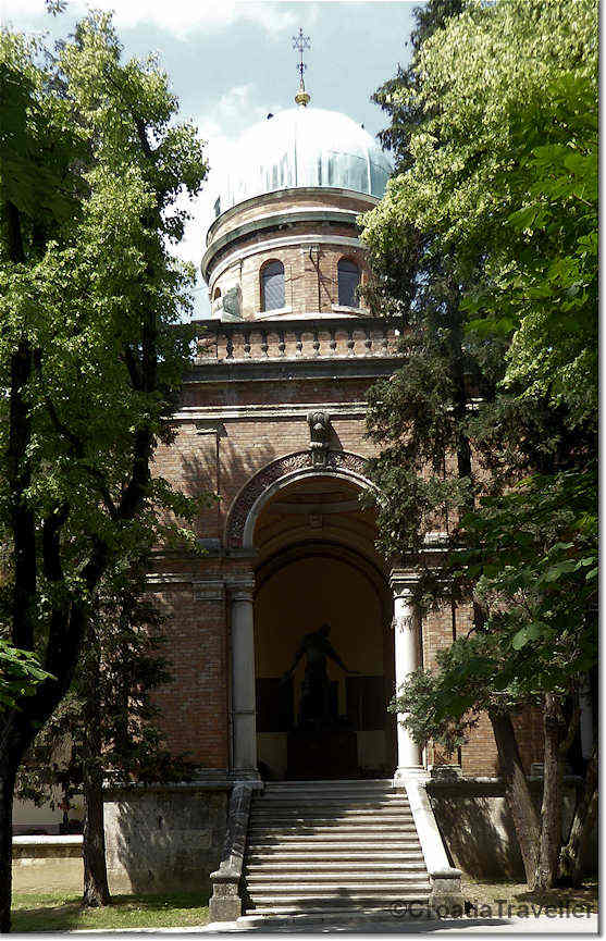 Mirogoj-tomb of the Muller family