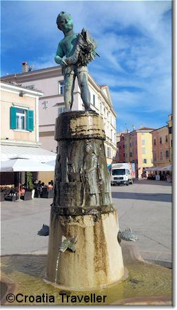 Rovinj Fountain