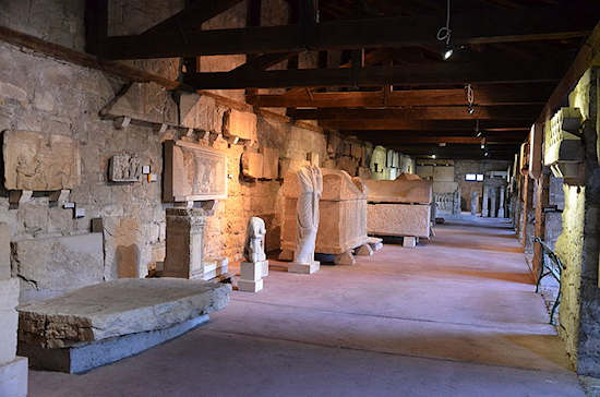 Interior of the Split Archaeological Museum