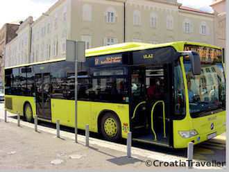Split local bus