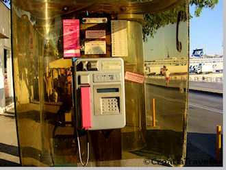 Telephone booth, Croatia