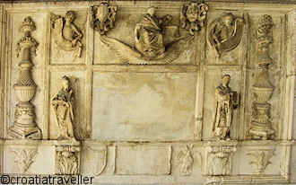 """Justice"" Frieze, Trogir Hall of Justice"
