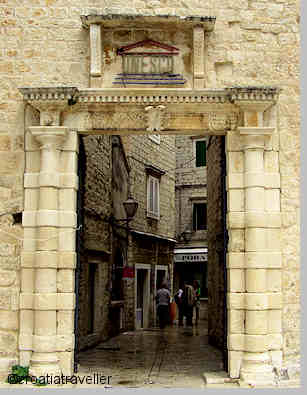 Entrance to Trogir's Old Town