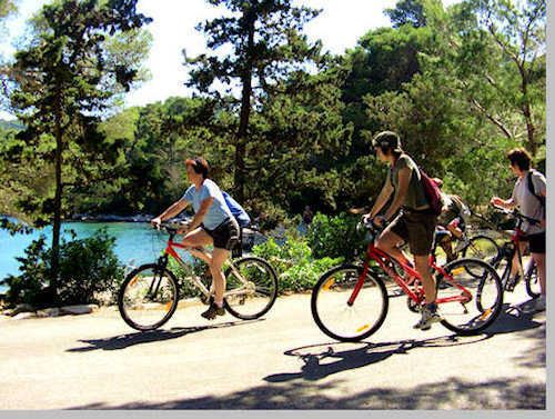 Cycling in Mljet