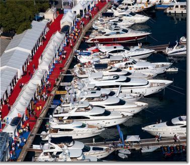 Boats at the Croatia Boat Show
