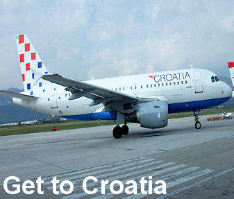 Croatia Airlines plane