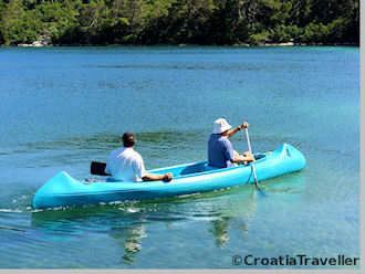 Kayaking in Mljet National Park
