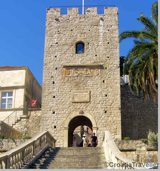 Entance to Korcula Town