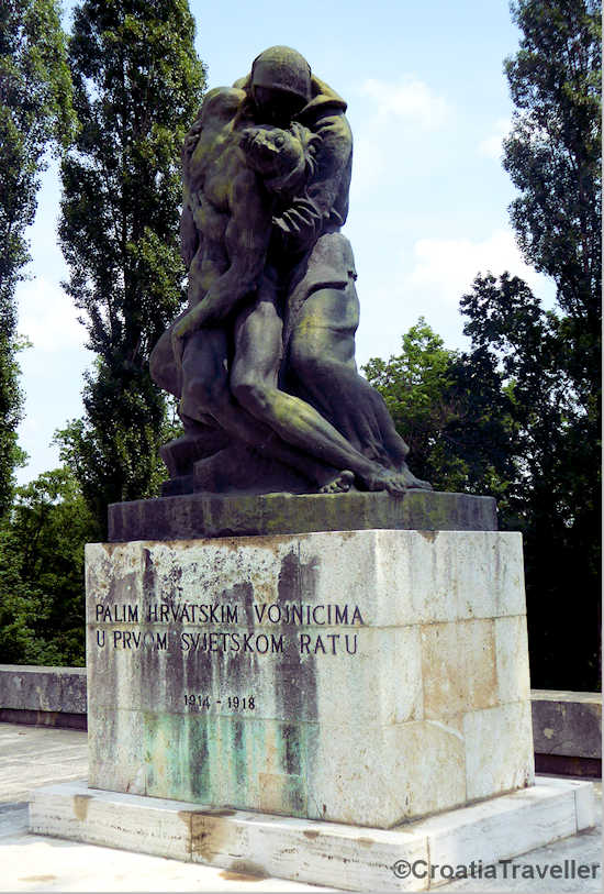 Monument to WW1 Mirogoj