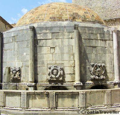 Onofrio Fountain, Dubrovnik