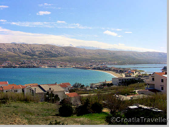 View of Pag town
