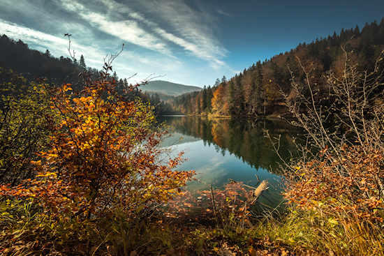 Autumn in Plitvice Lakes National Park