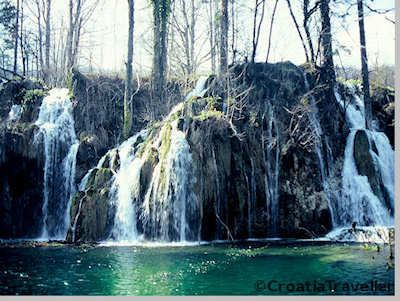 Plitvice Lakes in April