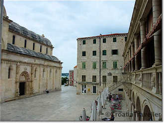 Sibenik central square