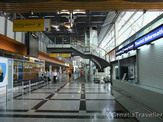 Split Airport interior