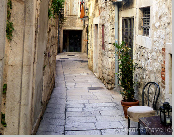 Street in Split's Old Town