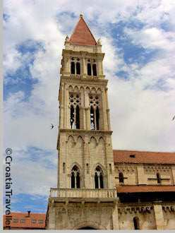 Trogir's cathedral bell tower
