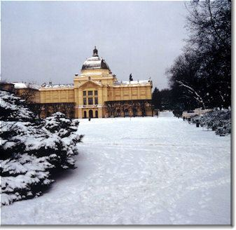 Zagreb in the snow